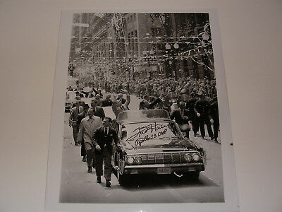 Apollo 13 Astronaut Fred Haise Hand-Signed Vintage NASA Photo Ticker-Tape Parade