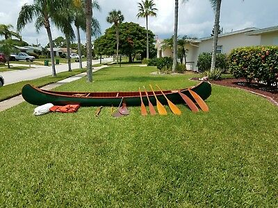 Vintage Canoe - Old Town, 18 ft, 1966, great condition, plus many accessories.