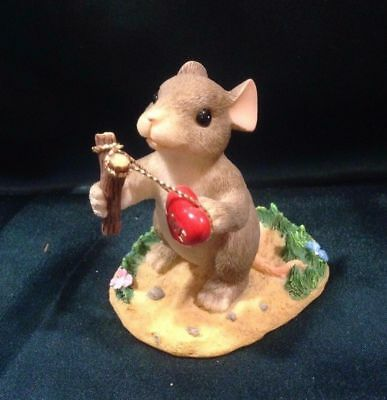 Charming Tails By Dean Griff - Nib- Valentine's Day- Give Love A Shot