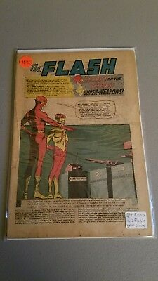 The Flash #135 (Mar 1963, DC) coverless reader copy