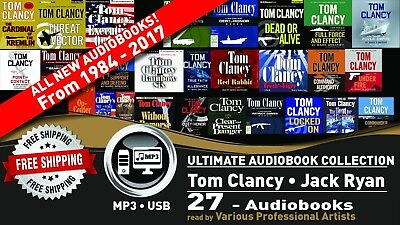 27 • Tom Clancy - Jack Ryan Ultimate Audiobook Universe • Ryanverse • Collection