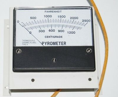 Centigrade Pyrometer 2500 F Type K Thermocouple Temperature Sensor