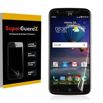 4X SuperGuardZ® HD Clear Screen Protector Film Shield Armor For ZTE Grand X 3