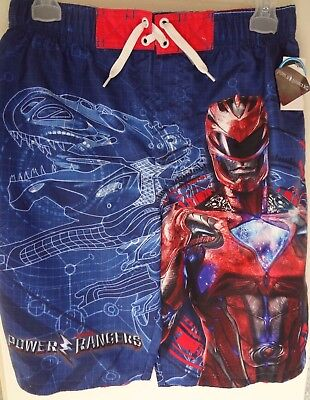 Power Ranger swim trunks new Youth size XL (14/16)  colorful SALE