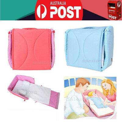 NEW Portable Baby Nursery Sleeping Bags Bassinet Foldable Travel Bed Crib Cot OZ