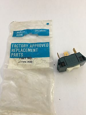 New In The Bag Three Position Nutone/Scoville Range Hood Switch  P/N-63992–000