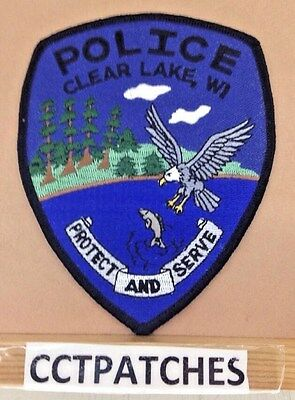 Clear Lake, Wisconsin Police Shoulder Patch Wi