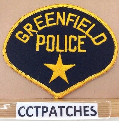 Greenfield, Wisconsin Police Shoulder Patch Wi