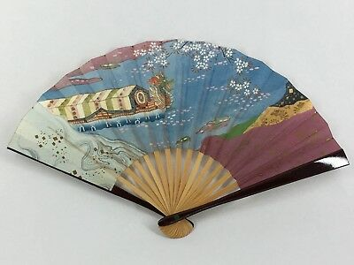 "Small Vintage Japanese ""Sadou"" Tea Ceremony 'Sensu' Folding Fan: Jan18F"