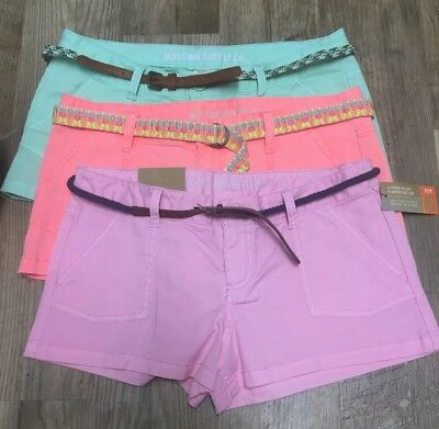 LOT 3 Mossimo Target Shorts Sizes 9  - Fit6