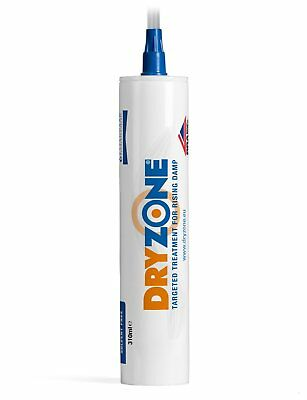 Dryzone DPC Injection Cream 310ml - Damp Proof Injection Cream For Rising Damp