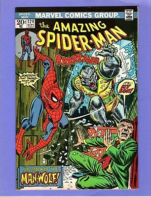 Amazing Spider-Man #124  --  1st Appearance of Man-Wolf!  -- --  NM-  cond.