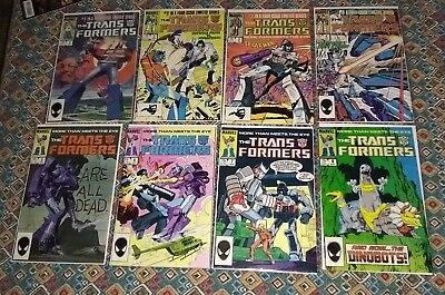 Transformers marvel comics lot complete 1-80