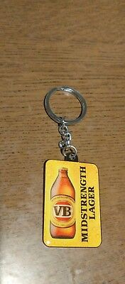 Victoria Bitter Midstrength VB Beer Keyring Collectable FREE POST