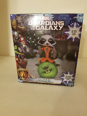 Guardians Of The Galaxy Rocket Air Blown inflatable 3ft Tall Lights up