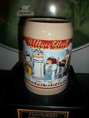 Utica Club Schultz & Dooley 1997  Character Mug! Matt Brewing! German WEBCO