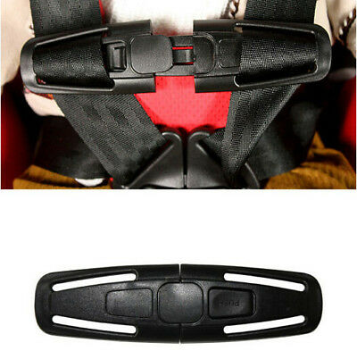 Baby Trend flex loc Safety Car Seat Harness Black part Clip Buckle Child Chest