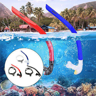 Copozz Adult Pro Front Swimming Breathing Tube Open Top Snorkels Snorkeling Gear