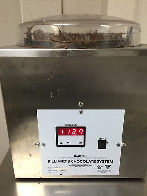 Hilliards Chocolate Tempering Machine, Chocolate System