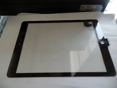 Ipad 5 Digitizer Front Touch Screen Glass Replacement Black