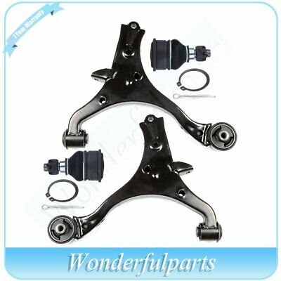 Fit Honda Civic 1.7L 2001-2005 Lower Control Arm + Ball Joints Suspension Kit