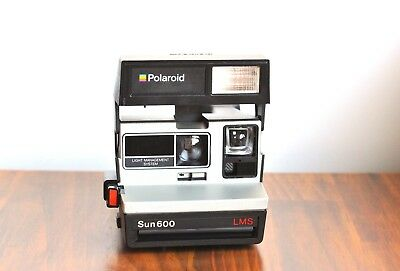 POLAROID Sun 600 LMS LAND Instant Film Camera! *Good Condition  -Working/Teste@@