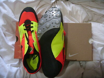NEW NIKE ZOOM RIVAL S RUNNING SPIKES SHOES TRAINERS (UK11.5 but more like