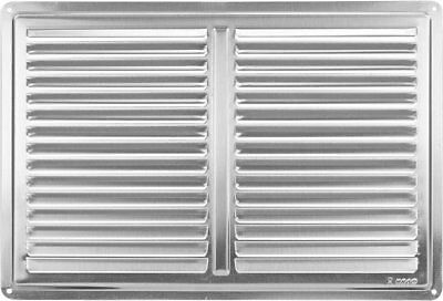 "Stainless Steel Air Vent Grille Cover 300x200 12x8"" Ventilation Grill Cover"