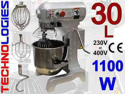 PLANETARY DOUGH MIXER 30L / 15KG dough HOBART design 230 or 400V NEW! IN STOCK!
