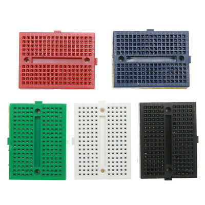 5pcs Mini Solderless Prototype Breadboard SYB-170 170 Tie-points ASS
