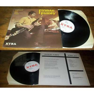 FINBAR FUREY - Traditional Irish Pipe Music LP ORG UK Xtra Label Folk Jazz NM 69