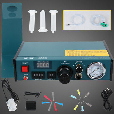 983A Precise Digital Auto Glue Dispenser Solder Paste Liquid Controller Dropper