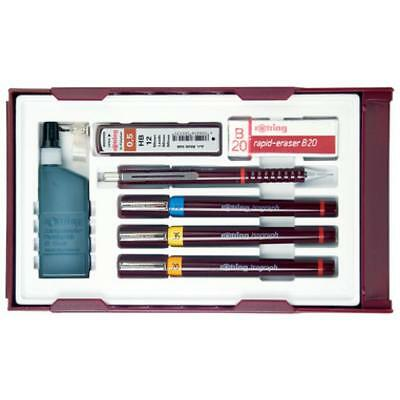 rotring Tuschefüller isograph College Set, 0, 2 - 0, 7 mm (3501170699409)