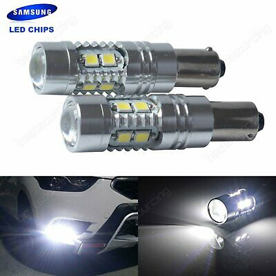 2x BA9S T4W SAMSUNG 10W LED Ampoule Blanc Voiture Veilleuse Clignotant Tuning