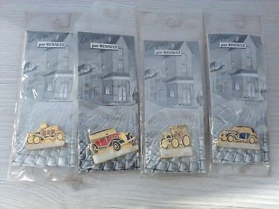 lot pin's Renault voiture ancienne NEUF