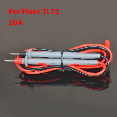 For Fluke TL71 10A Hard Point Test Leads Set for Digital Multimeter Meter Probes