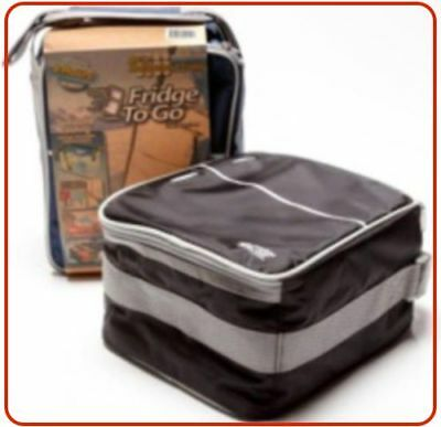 ❤ Fridge To Go Mini Fridge Lunch COOLER BAG 12 Can 8 Hours Cold Cool Kids Baby ❤