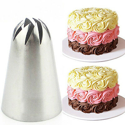 Wilton #2D Large Drop Flower Decorating Tip Icing Nozzle Sugarcraft Cookie LC
