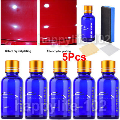5x Anti-scratch Liquid Ceramic Coat Super Hydrophobic Glass Coating Car Polish