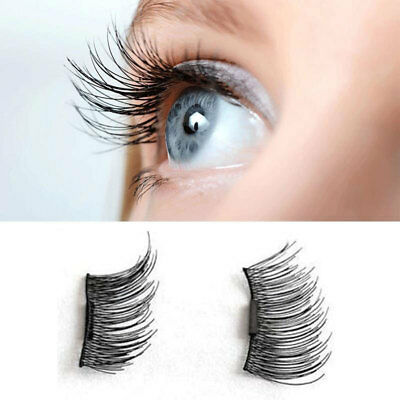 4Pcs 3D Magnetic False Eyelash Fake Eyelashes Pestañas postizas Makeup