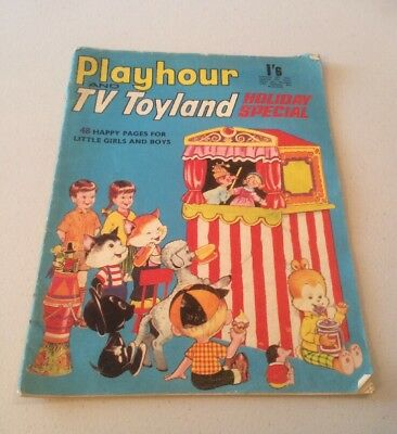 Playhour TV Toyland Comic Holiday Special 1968 Pinky And Perky Magic Roundabout