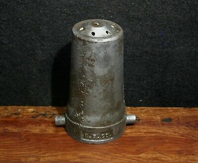ANTIQUE  FIRE SPRINKLER HEAD R&S Rockwood Short Co.   Cast Iron    Stamped C.D??