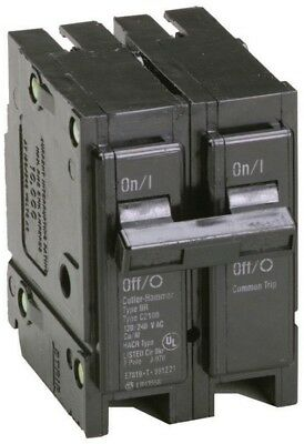 Eaton 50 Amp 2 in. Double-Pole Type BR Replacement Circuit Breaker Protection