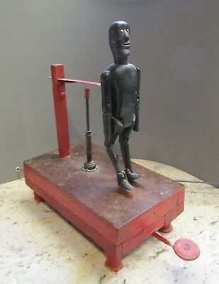Antique Black Americana Jointed Dancing Jigger Toy Rare Style