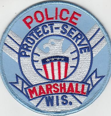 Marshall Wisconsin Wi Police Shoulder Patch