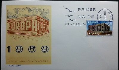 SPAIN - SPAGNA - 1969 - FDC - Europa. RB01