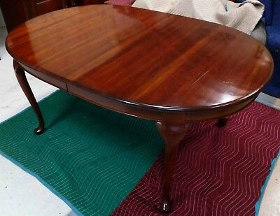 Pennsylvania House Dining Room Table Cherry Queen Anne