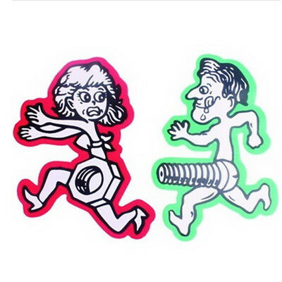 Funny Men Chase Women Nuts Bolts Car Stickers Motorcycle Bumper Window Sticker
