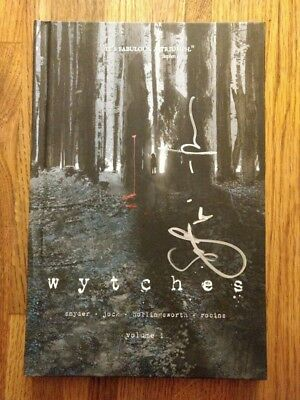 Wytches Hardcover, SDCC Exclusive, 2x SIGNED by Scott Snyder, Sketch by Jock!