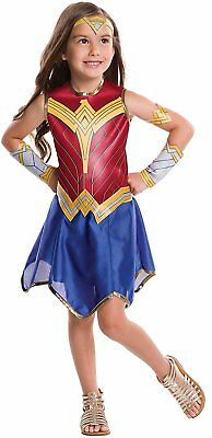 Wonder Woman Movie Childs Value Costume, Large